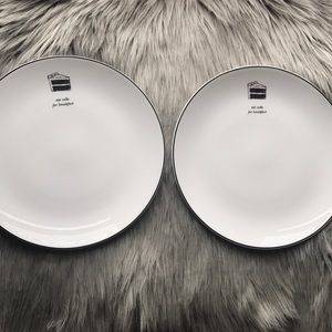 Kate Spade Plates Set of 2